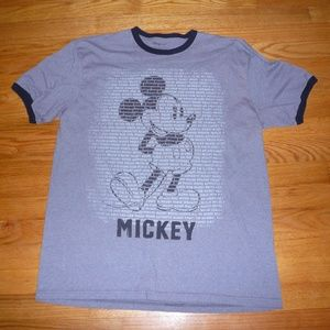 Authentic Disney Mickey ringer tshirt